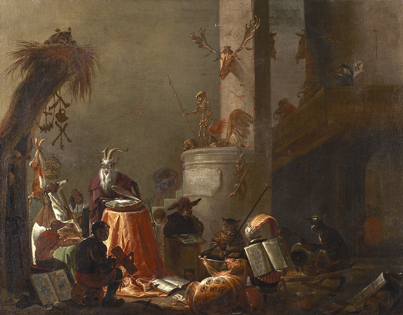 Cornelis Saftleven - College of Animals, 1655