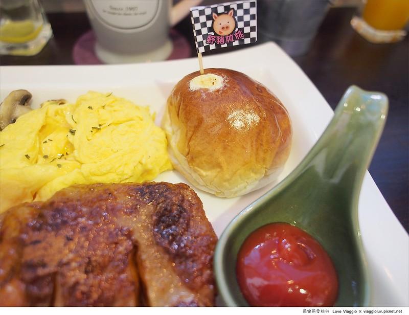 【台北 Taipei】板橋早午餐-野豬核桃 色彩繽紛的鄉村風餐廳 @薇樂莉 Love Viaggio | 旅行.生活.攝影