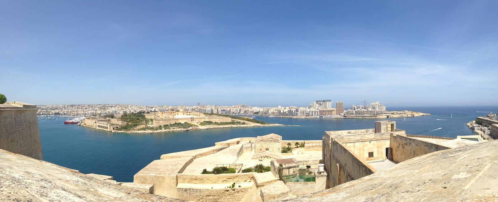 Valetta Harbour in Malta....