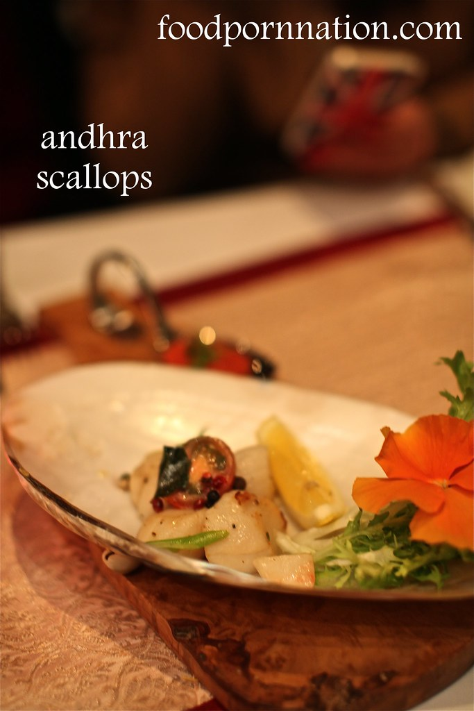 Andhra scallops - Gaylord - Fitzrovia - London Food Blog