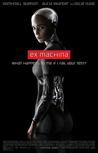 映画『エクス・マキナ』ポスター