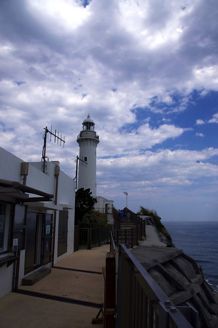 Photo:shioyazaki lighthouse onahama iwaki fukushima japa By bluXgraphics(motorcycle design Japan)=Midorikawa
