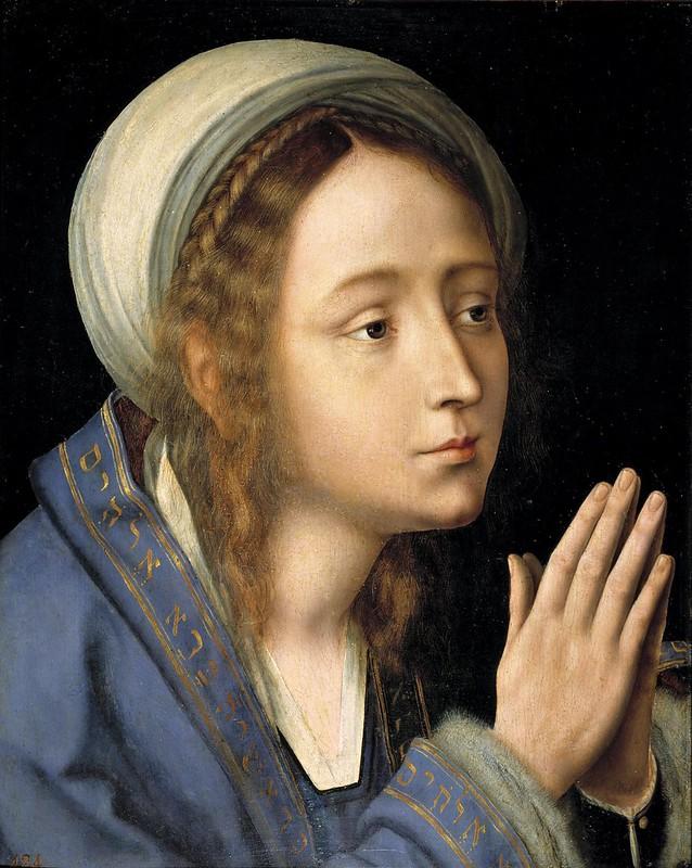 Quinten Massijs - La Virgen en oración