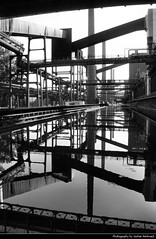 Zeche Zollverein Reflection, Essen, Germany