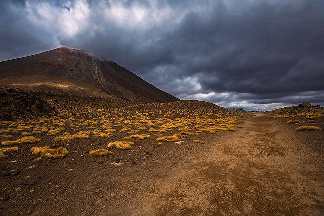 Mt. Doom - Tongariro Alpine Crossing, New Zealand.