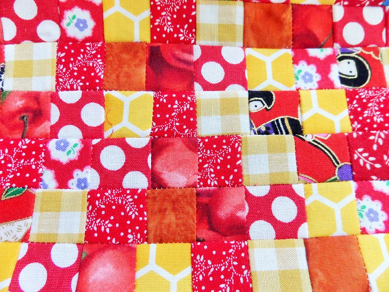 Red and Yellow Patchwork