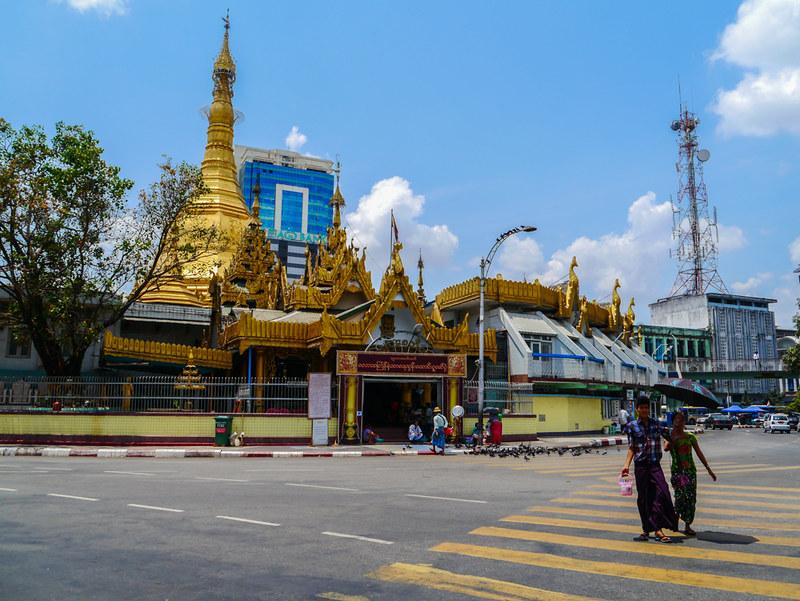 locals in Yangon