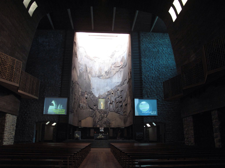 basilica arantzazu_retablo_madera_lucio muñoz
