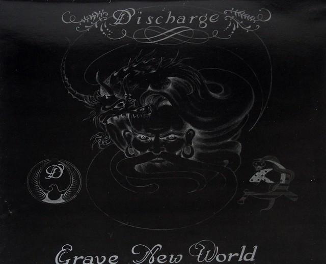 DISCHARGE - GRAVE NEW WORLD FOC Gatefold