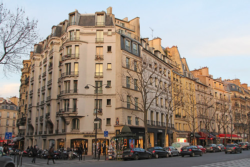 Boulevard Saint-Germain - Paris (France)