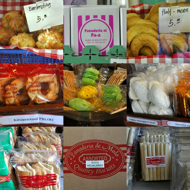 Iloilo traditional biscuits and pastries