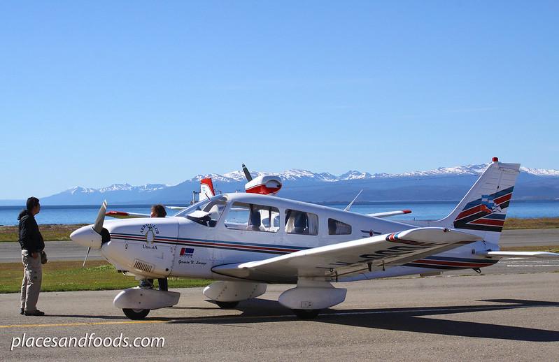 aeroclub ushuaia piper cherokee
