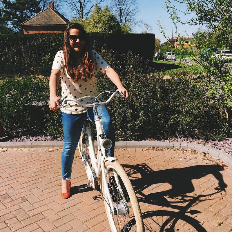 The Awkward Blog bike