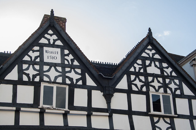 The Tudor of Lichfield built in 1510