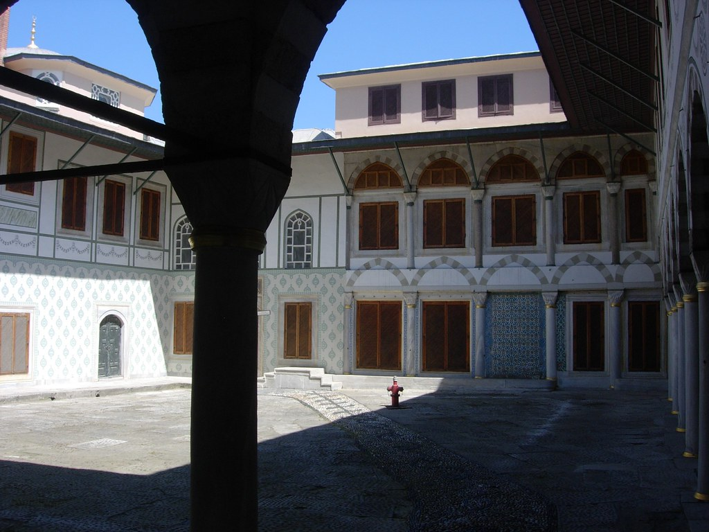 El harem dentro de Topkapi