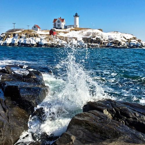 york lighthouse me maine nubble