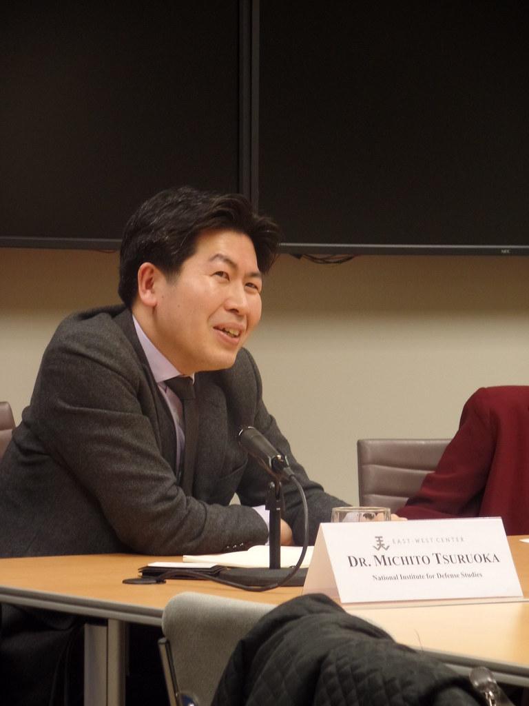 Dr. Michito Tsuruoka, Senior Research Fellow, National Institute for Defense Studies