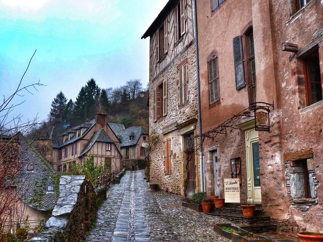 Calle de Conques (Midi-Pyrénées)