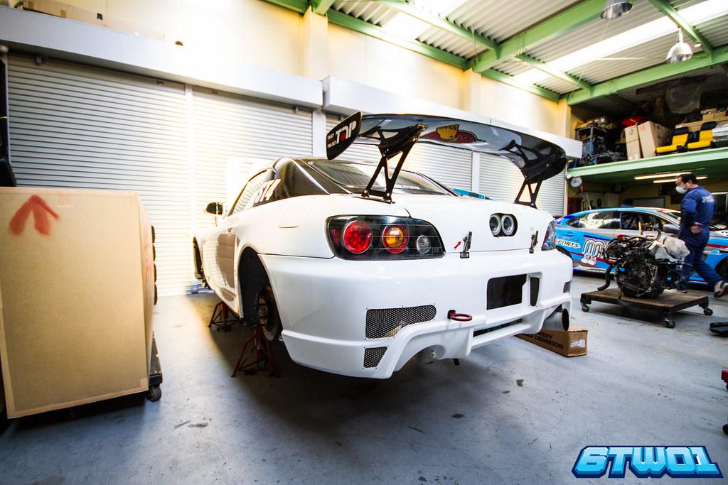 S2000 Rear Race car