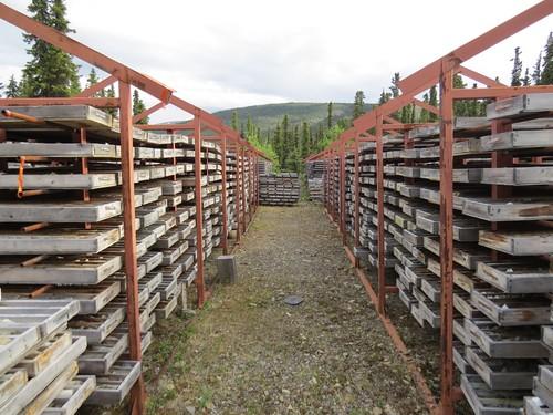 Drill Core Graveyard