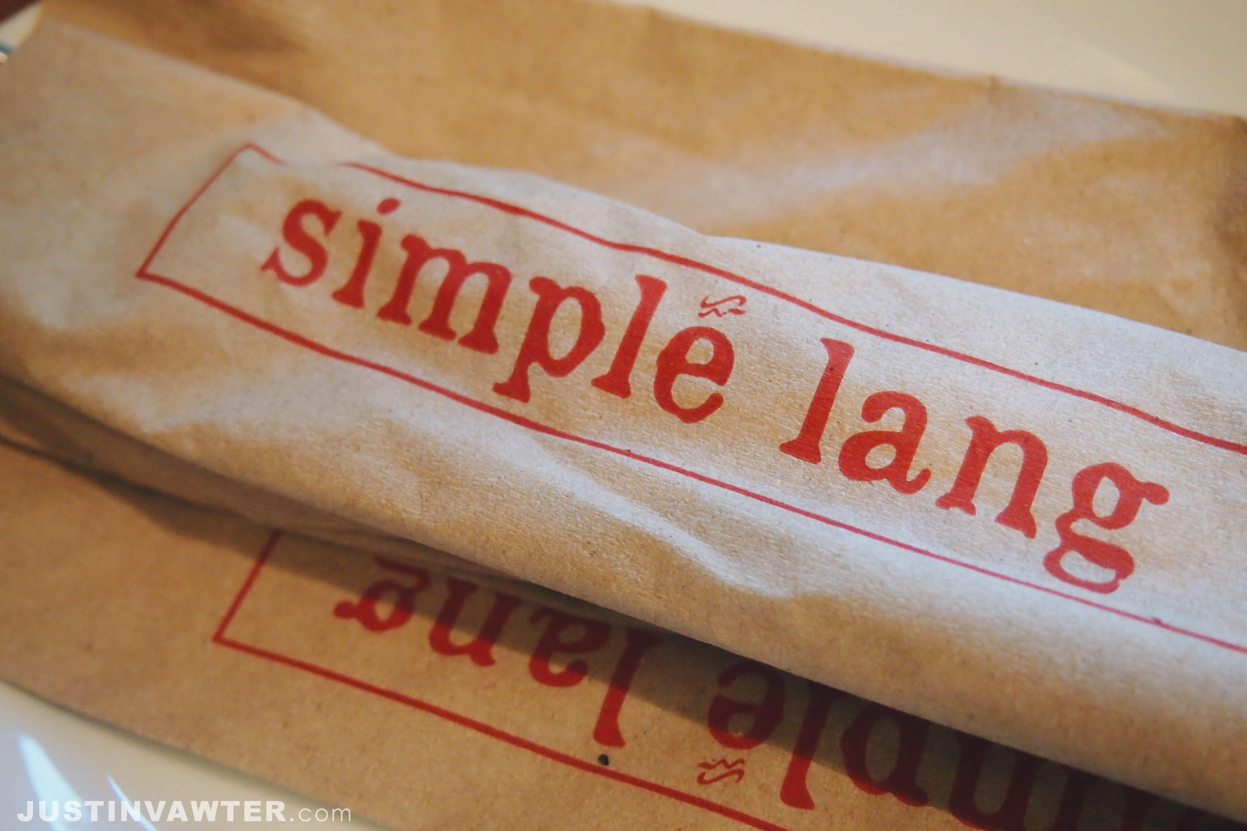 Simple Lang