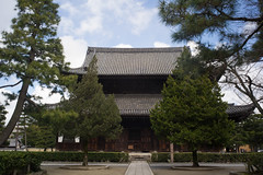 The main hall of Ken-nin-ji