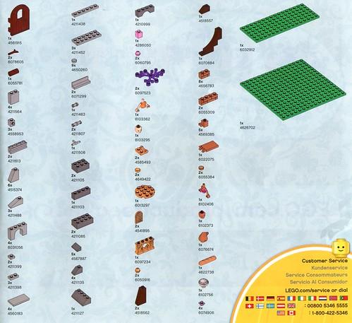 LEGO Elves 41074 Azari and the Magical Bakery ins08