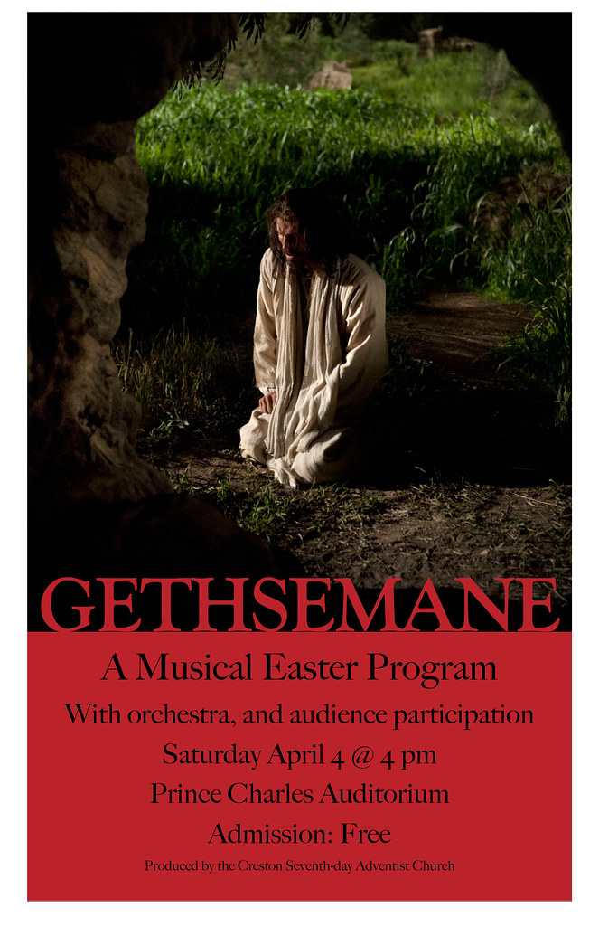 GETHSEMANE A MUSICAL EASTER PROGRAM