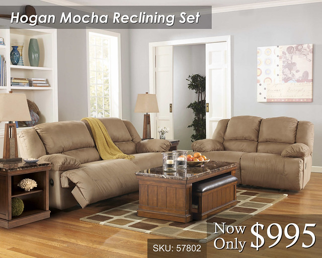 Hogan Mocha Reclining Set JPEG
