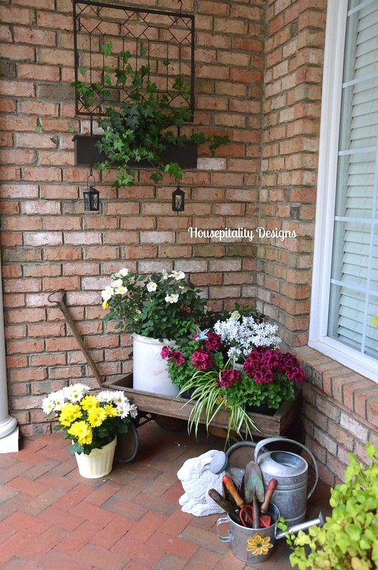 Spring Front Porch-Housepitality Designs