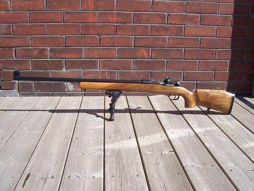 Schultz & Larsen M69 Target Rifle -- left side