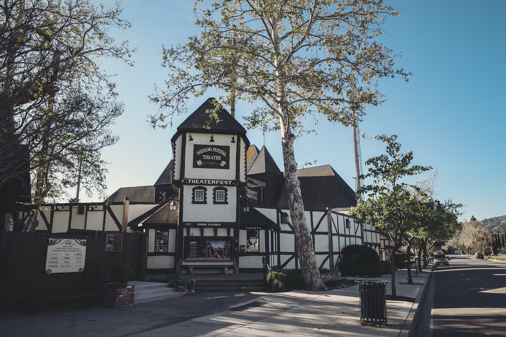 Morning Walk Around Solvang, California