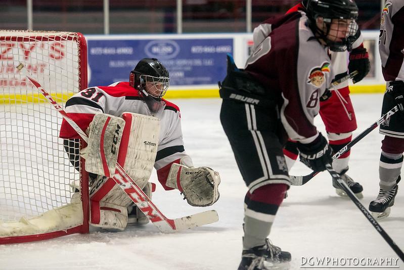 Milford vs. Fairfield - High School Hockey