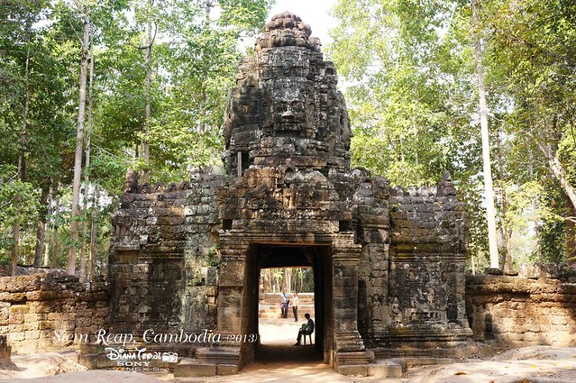 Siem Reap, Cambodia Day 4 - 05 Ta Som 01