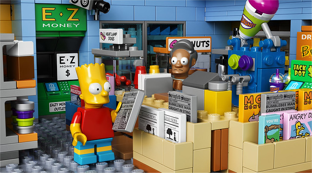 LEGO The Simpsons 71016 - The Kwik-E-Mart