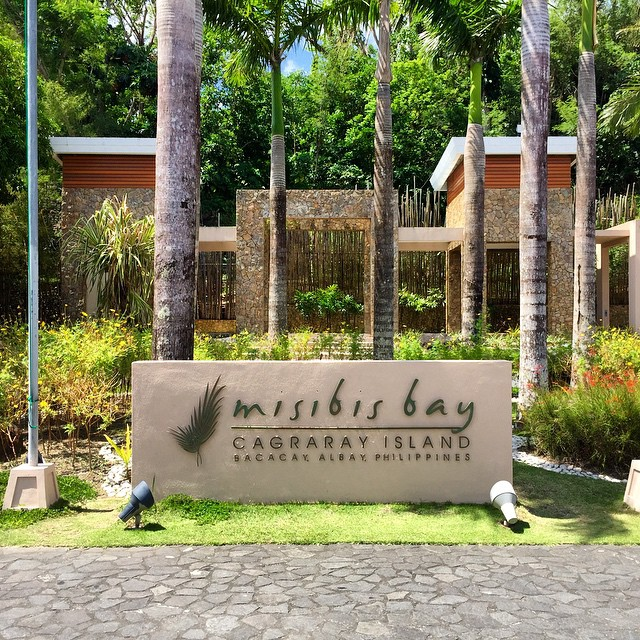 touchdown misibis bay!