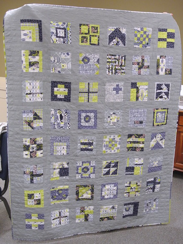 Melanie's 100 quilt blocks