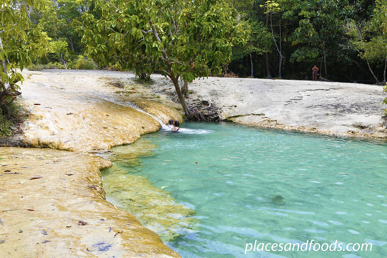 krabi emerald pool in the jungle