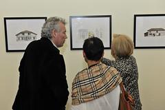 Exposition des dessins de Dominique Duplantier à l'Atrium Culture