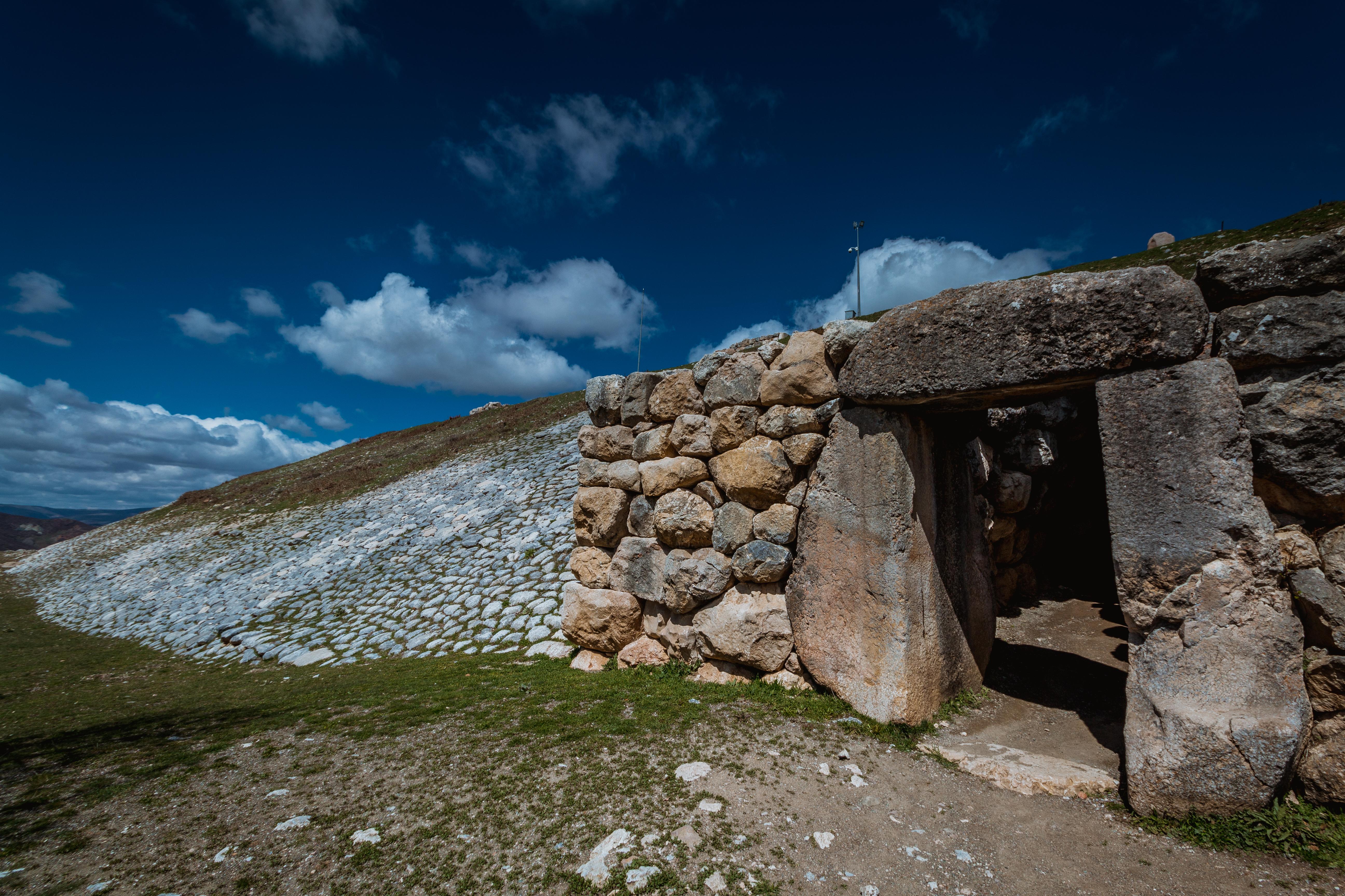 The walls of Hattusa