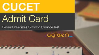 CUCET Admit Card 2017