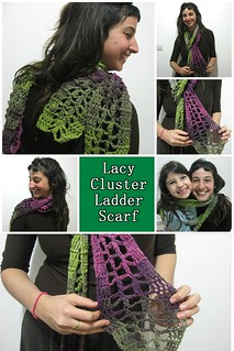 Lacy Cluster Ladder Scarf Pinterest Pic