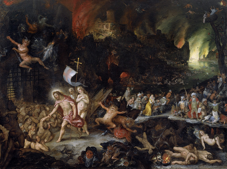 Jan Brueghel The Elder and Hans Rottenhammer - Christ in Limbo, 1597