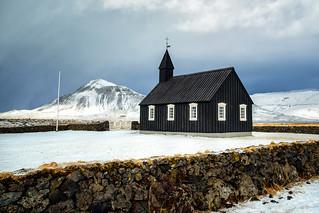 A storm approaches Búðir