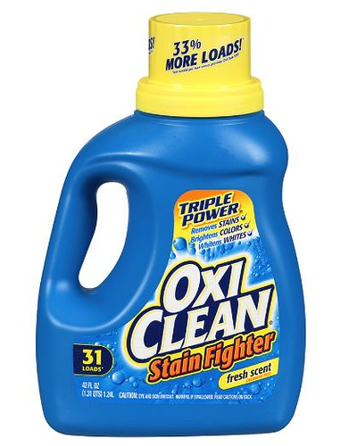 image about Oxiclean Printable Coupon known as $2/1 OxiClean Laundry Detergent Coupon: Merely $1.99 at Walgreens