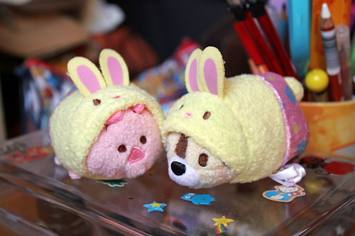 Easter Bunny Chip and Piglet
