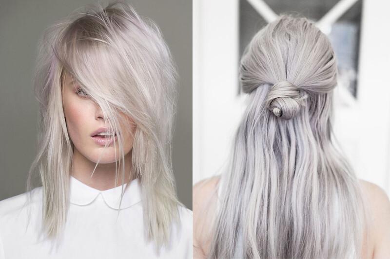 Granny Hair  la nuova moda dei capelli grigi - New York can wait ... d8ac33aca67e