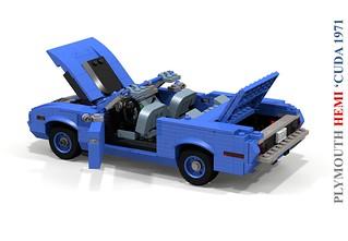 Plymouth 1971 HEMI 'Cuda Convertible