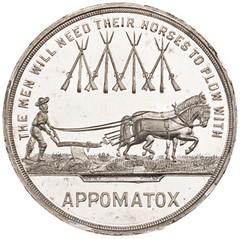 1865 Grant medal reverse