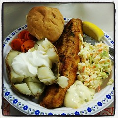 Fisssssshhhhhhhfriday... the best parish fare ever. #stmarysmaidstone #fishfry